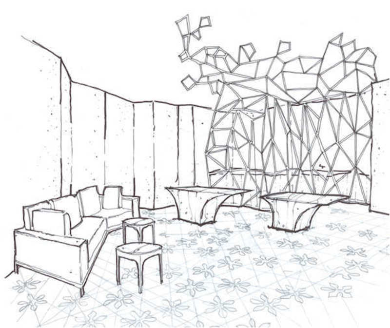 800x673 Istanbul Edition Hotel Spa Drawing 01 Design Ideas By Hirsch