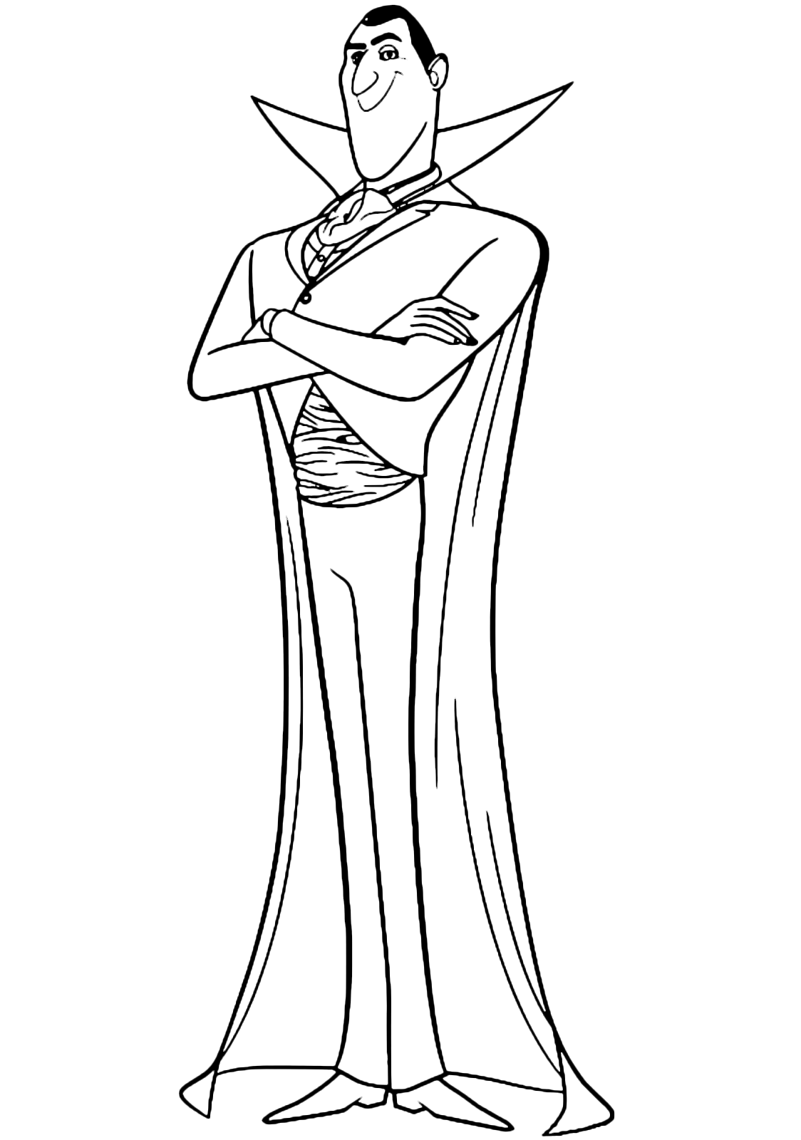 1124x1600 Hotel Transylvania Coloring Pages