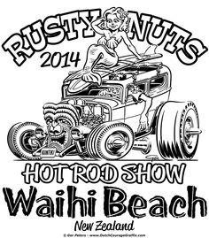 236x269 Cartown Hotrods Hot Rod Rat Rod Cartoon Rat Fink
