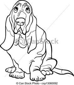 236x273 Basset Hound, Dog Image Download, Original Dog Design Clip Art