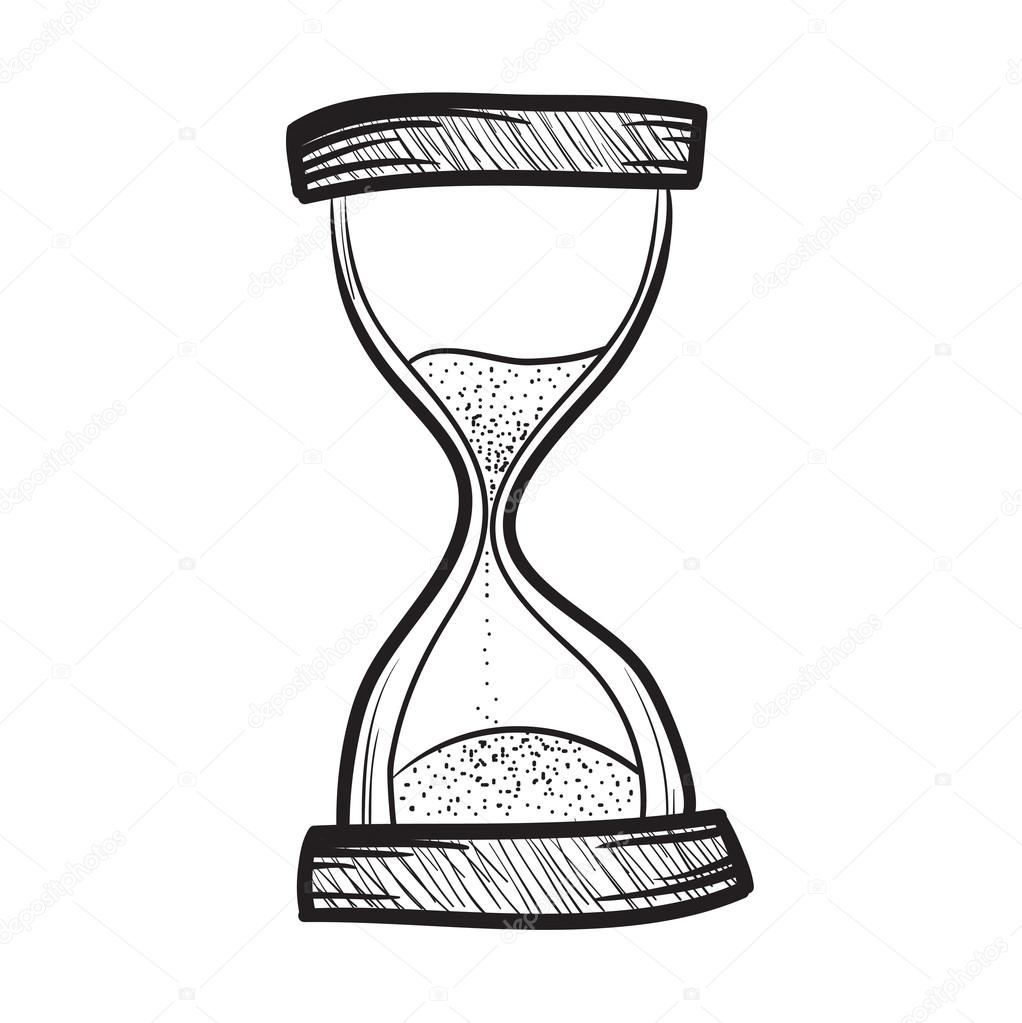 1022x1023 Hourglass, Sandglass, Sand Timer, Sand Watch, Sand Clock Vector