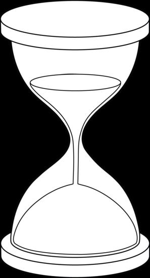 297x550 Hourglass Line Art