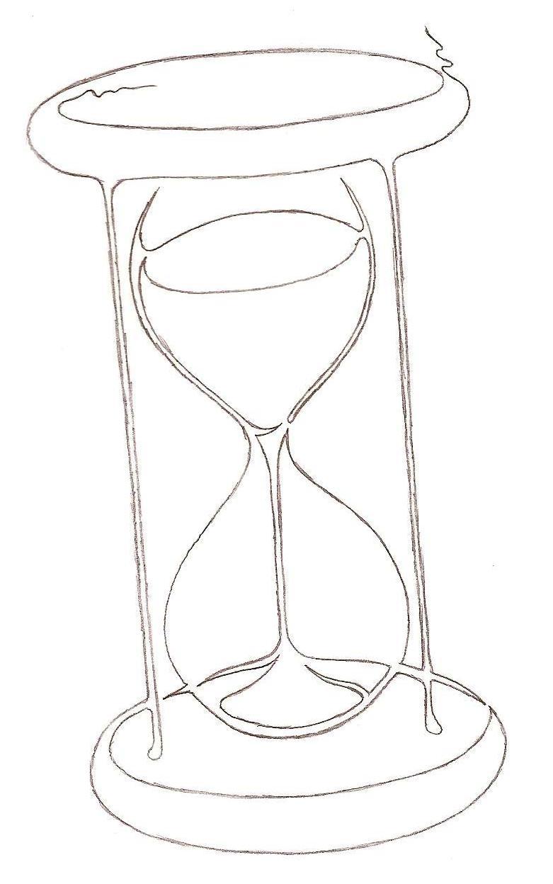 781x1248 Single Line Hourglass Lineart By Fellwuschel