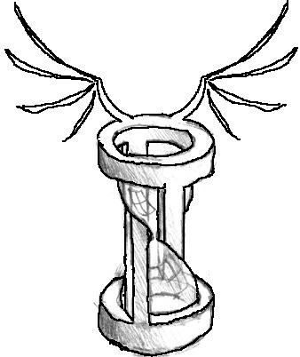 338x402 Tattoo Design Hourglass By Wolfskin24
