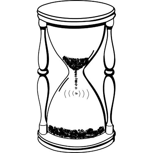 500x500 Hourglass Coloring Pages