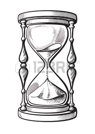 318x450 Drawing Hourglass Stock Photos. Royalty Free Business Images