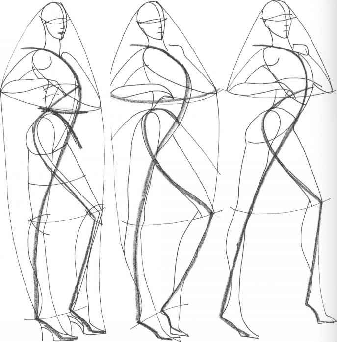 687x698 Figure Drawing For Fashion Design Fashion Illustrators