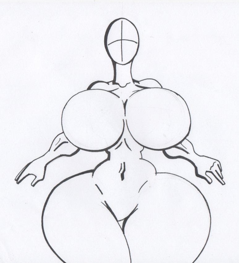 773x850 Hourglass Figure Blueprint Ink By Virus 20