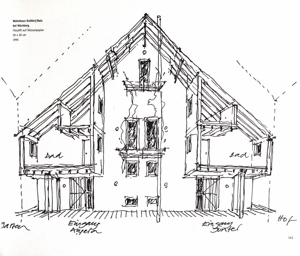 House Architectural Drawing
