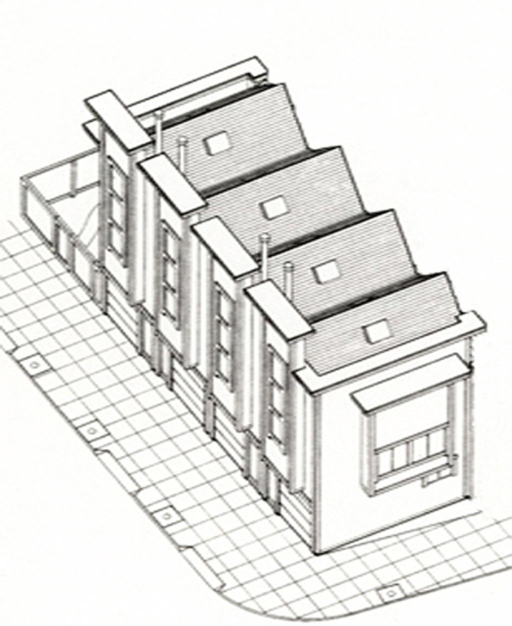 1024x1252 Modern Style House Plan
