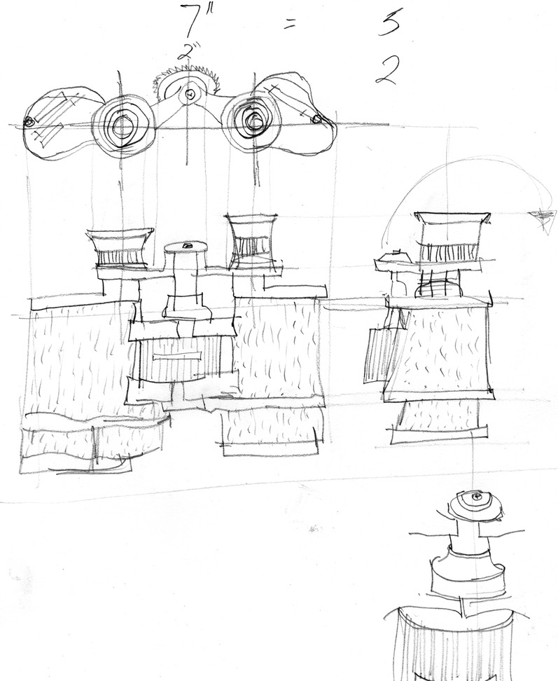 797x972 Plan Of Building Drawings Office Waplag Nice Drawing