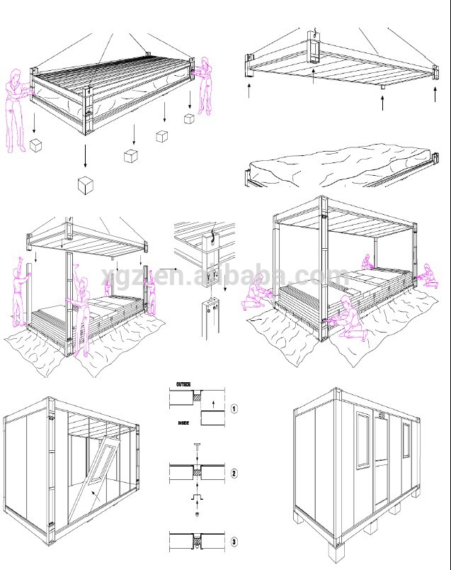 637x804 Xgz Construction Design Container House Steel Building, View Xgz