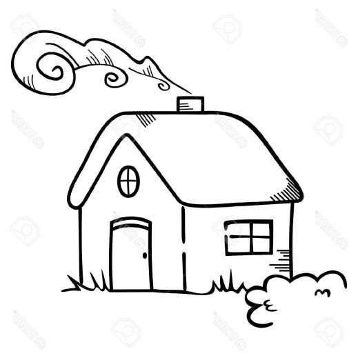 519x519 Wonderful Best Hd House Symbol Stock Vector Cartoon Drawing Cdr