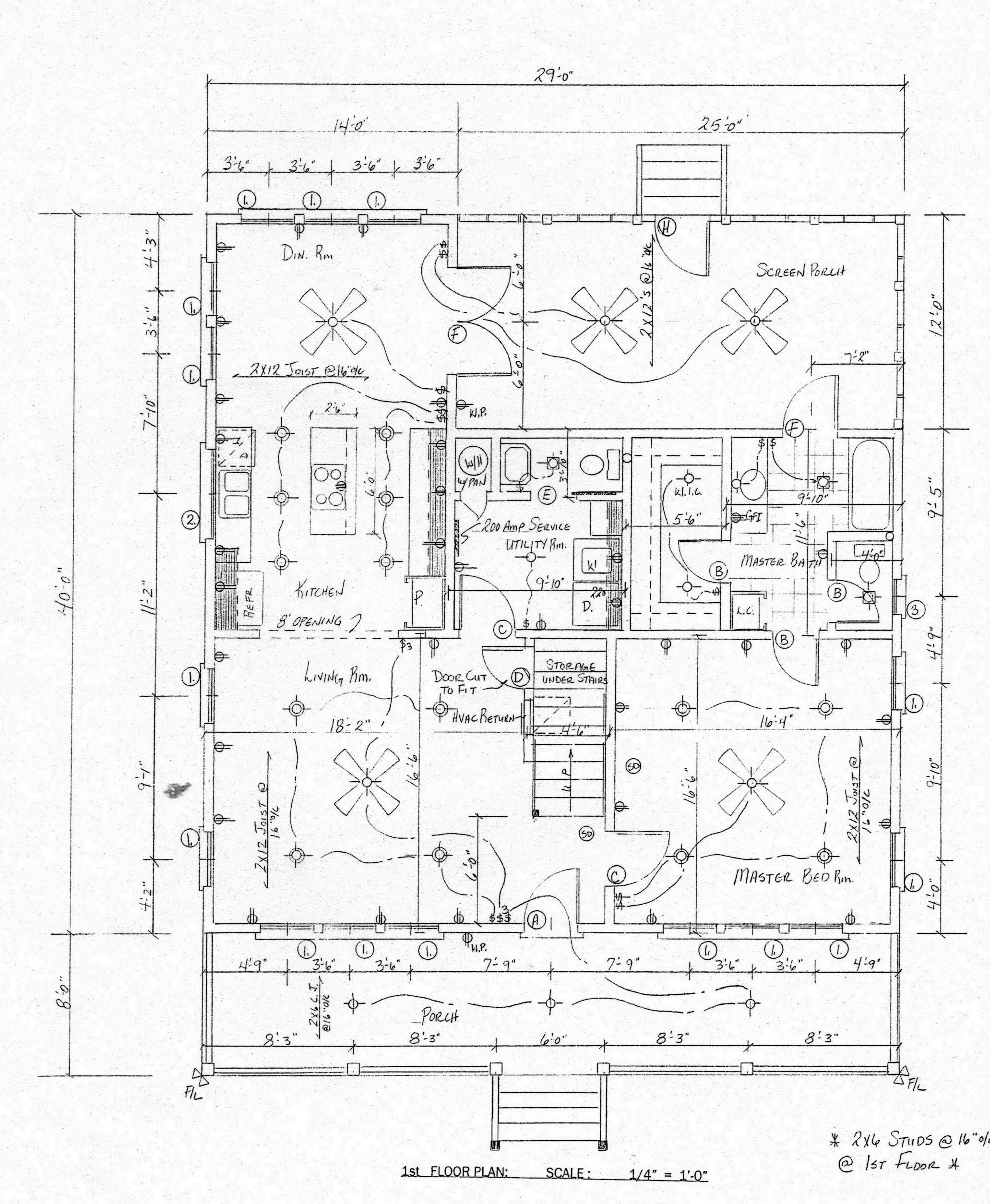 2063x2509 House Plans By Hope Mcgrady