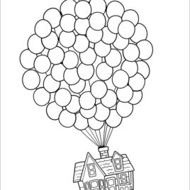 268x268 Exclusive Ideas 7 Up House Drawing Coloring Page Kids And Pages