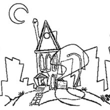 220x220 House Coloring pages, Reading amp Learning, Drawing for Kids