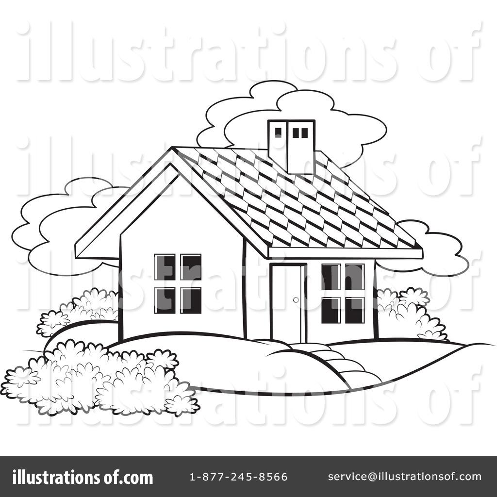 1024x1024 House Clipart