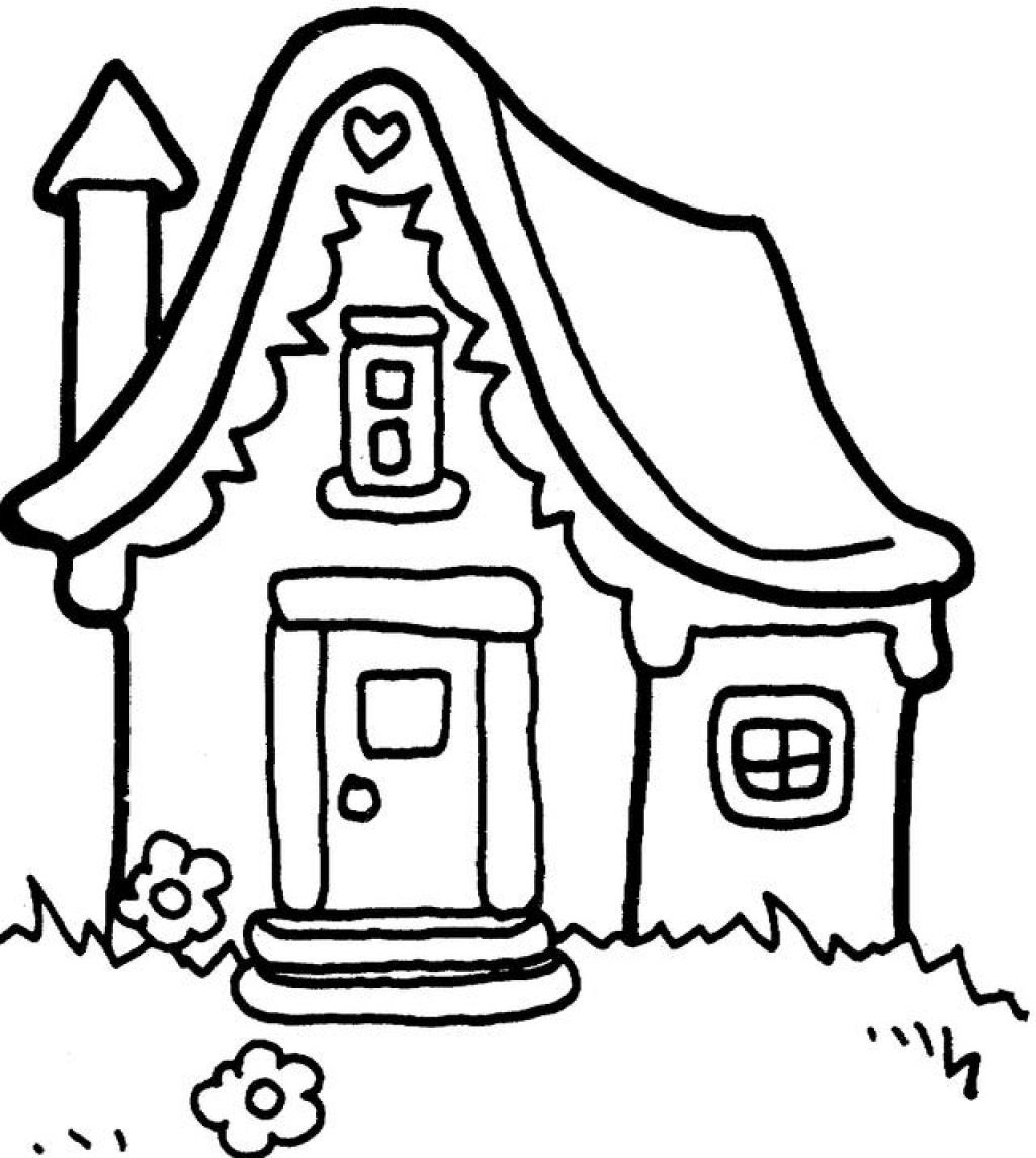 1024x1144 House Drawings For Kids To Color Houses To Color Wallpaper