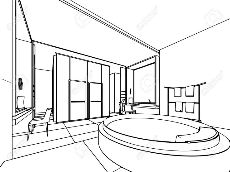 House Drawing Outline