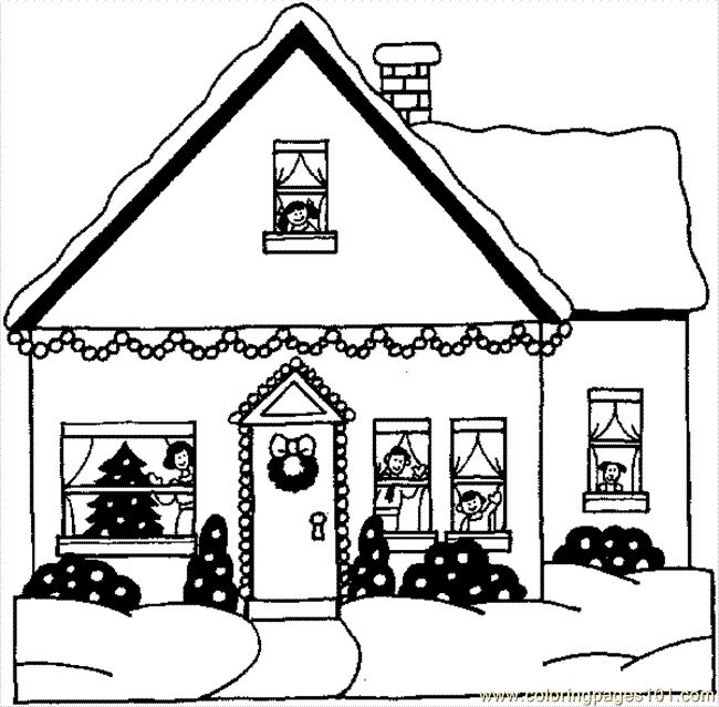House Drawing Outline at GetDrawings.com | Free for personal use ...