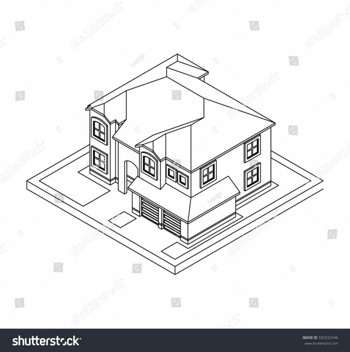 1185x1191 Roof Vector Modern Flat Roof House Sketch Architecture Drawing