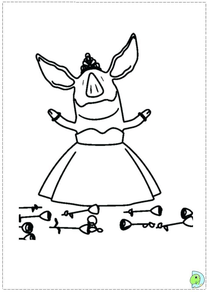 691x960 The Napping House Free Printables Pig Coloring Pages Nappi On