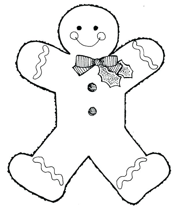 618x738 Coloring Pages Of Gingerbread Man Free Gingerbread Coloring Pages