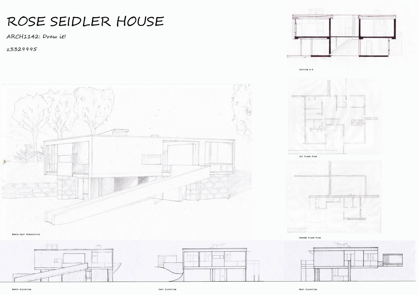 House Elevation Drawing