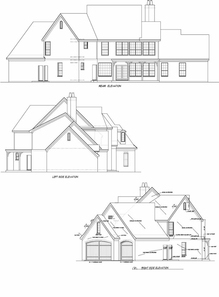 725x984 European Style House Plans