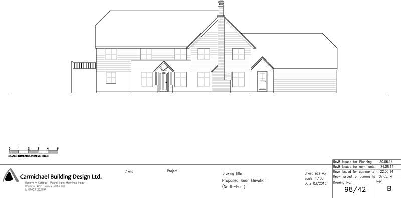 800x395 Example Drawings Carmichael Building Design