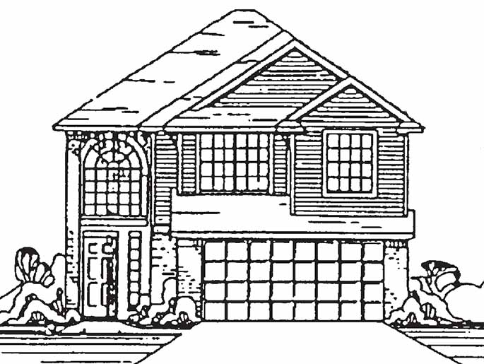 685x515 New 2 Story House Plans In Houston Tx The Elgin