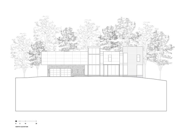 750x580 Riggins House By Robert M. Gurney Elevation Plan, House