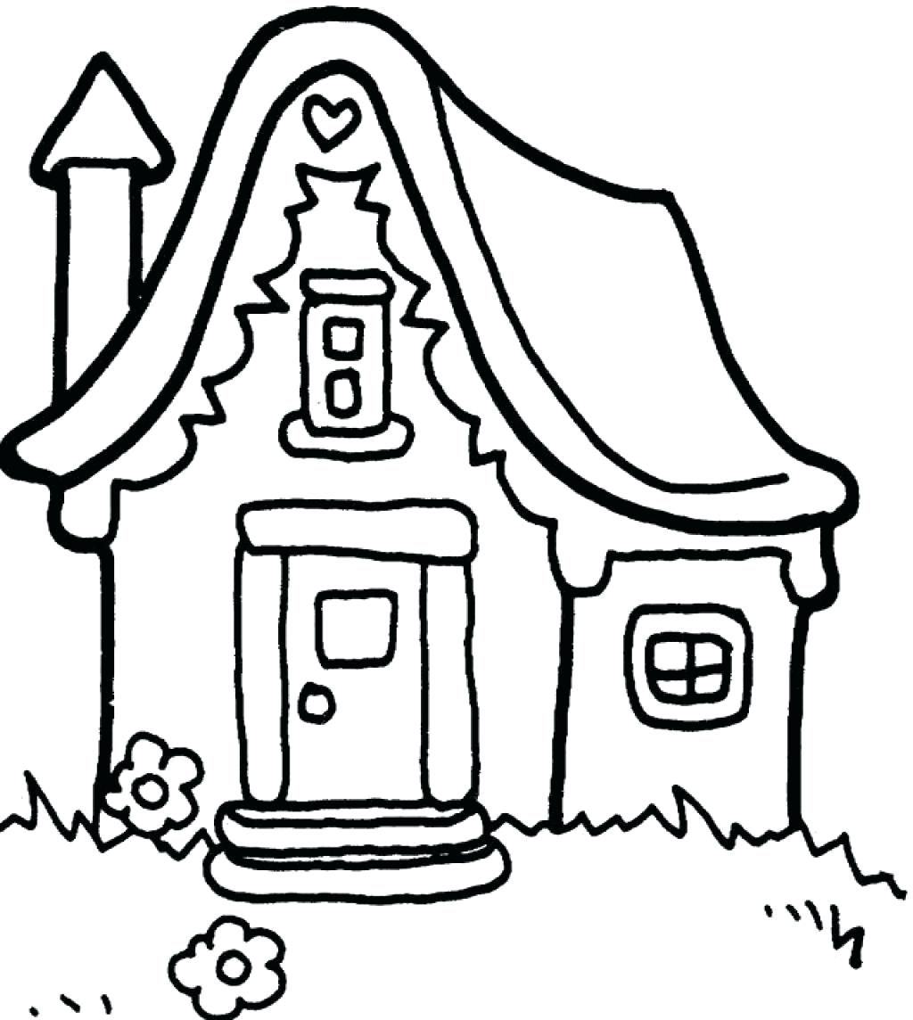 1024x1144 Coloring Coloring Pictures Of A House Winter Pages For Kids