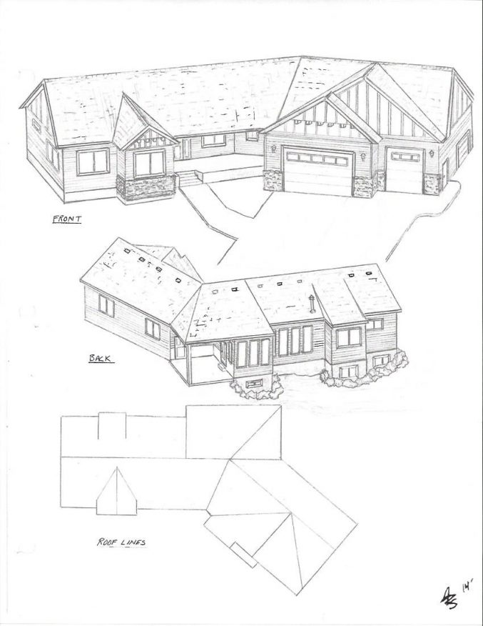 677x876 Uncategorized Who Can Draw Up House Plan Exceptional Inside
