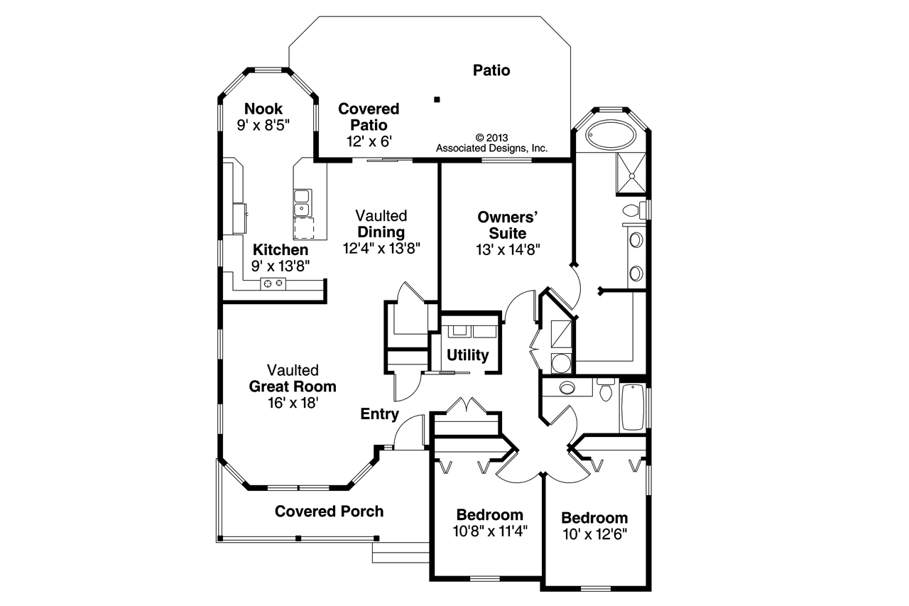 1280x853 House Inside Drawing Modern House