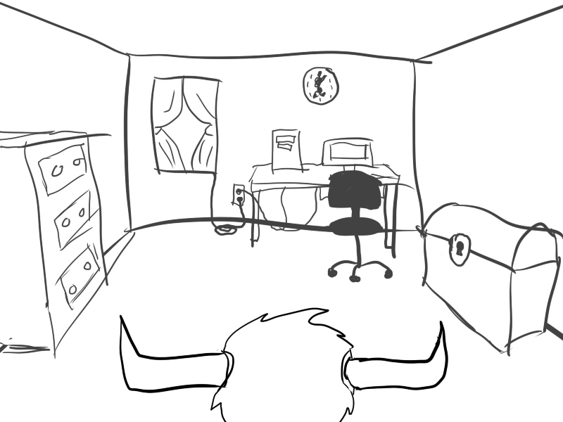 800x600 Drawing The Inside Of A House