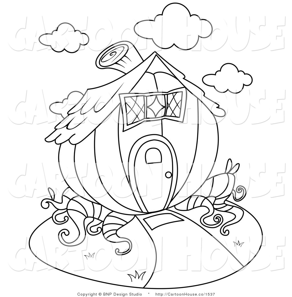 1024x1044 Pumpkin House Clipart