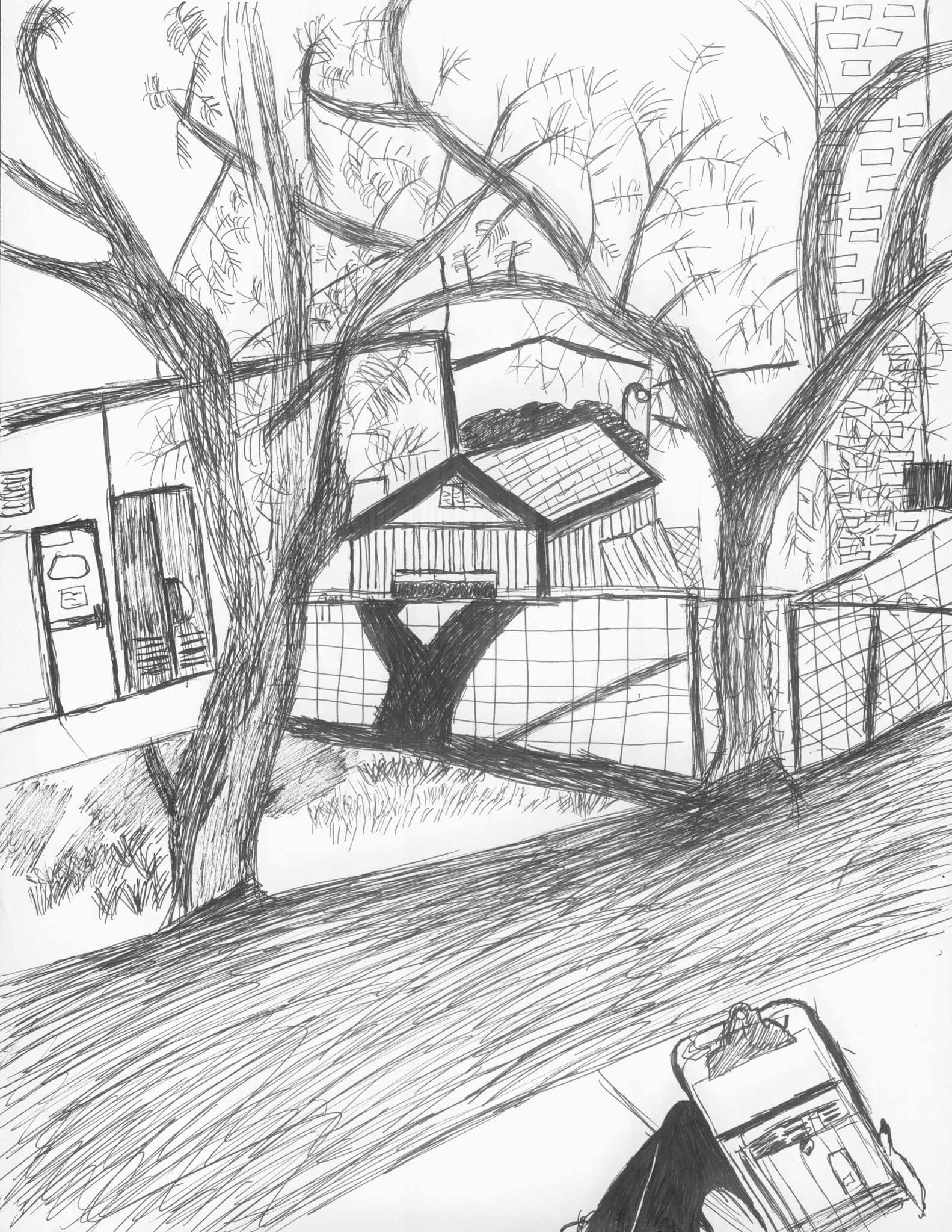 House Pencil Drawing at GetDrawings.com | Free for ...