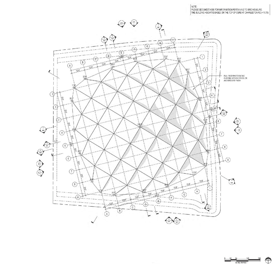 1041x1000 Architectural Roof Plans Converted To Schematic With Square