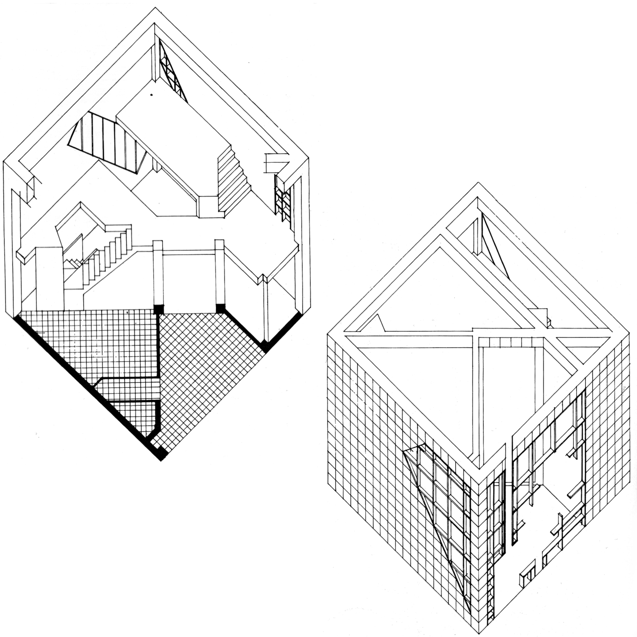 1280x1280 Simon Lanyon Hogg The House Project, 1970s Residential Scale