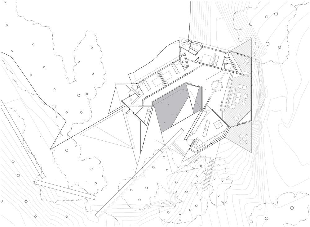 1000x731 Tula House By Patkau Architects Documentation