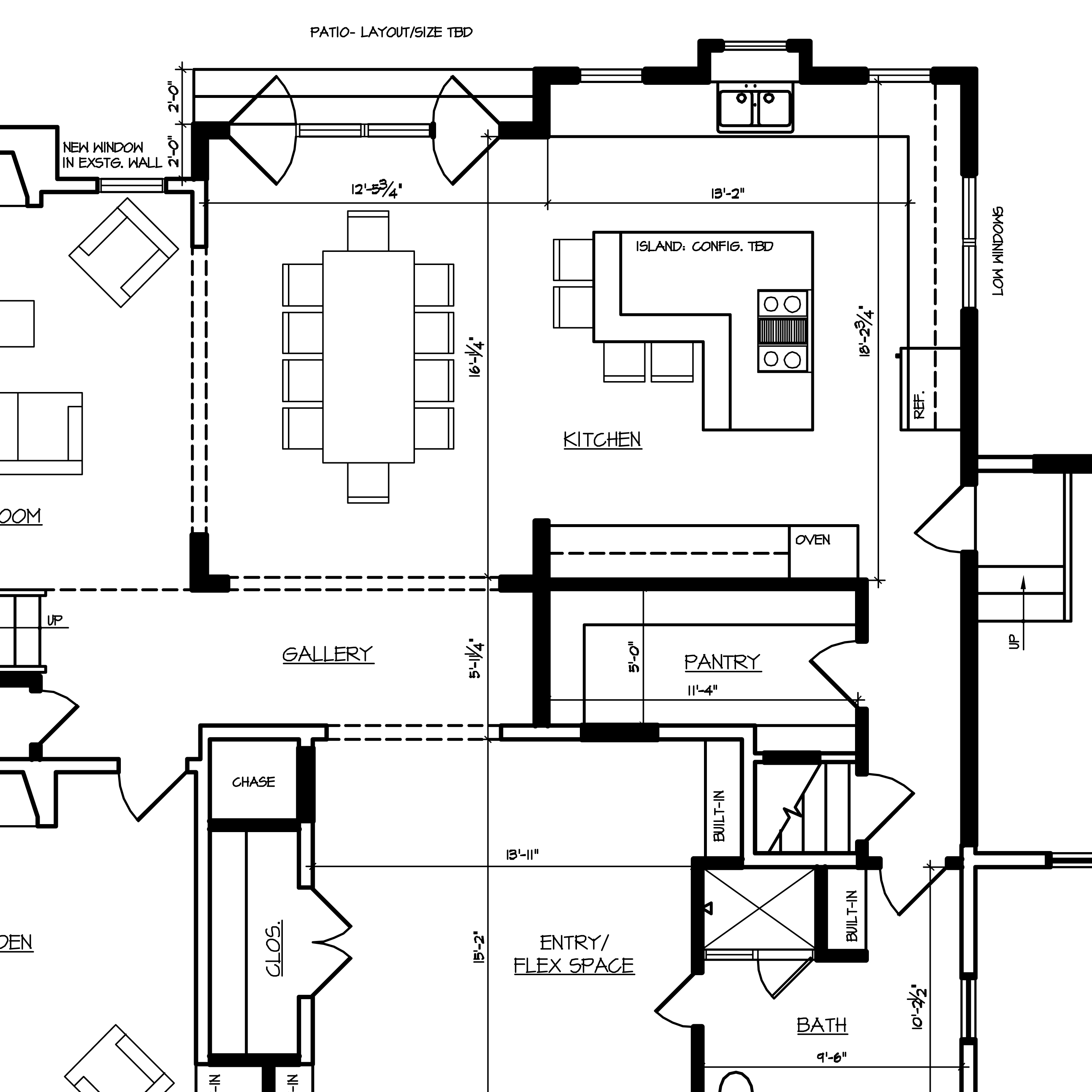 3000x3000 Residential Single Family Custom Home Architect's Trace