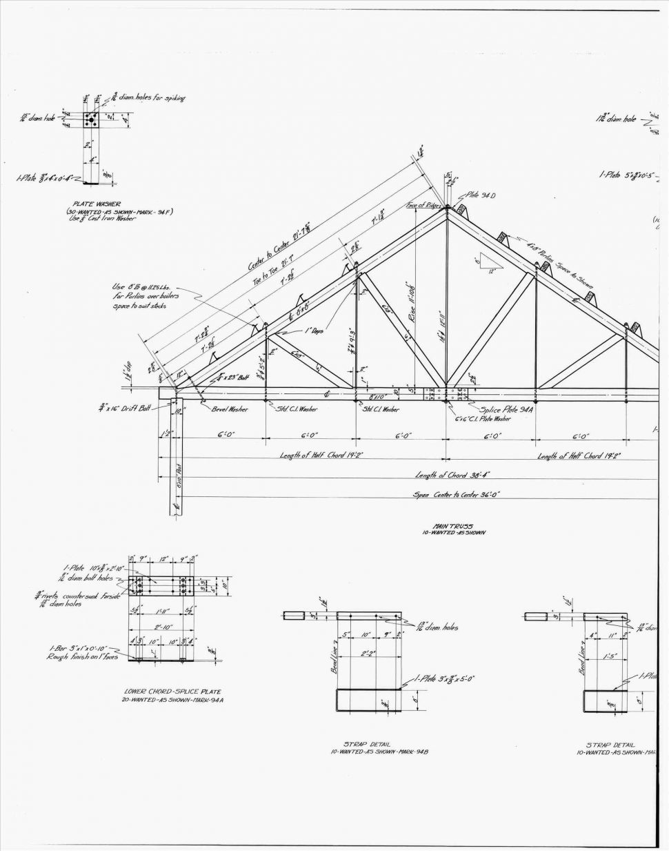 970x1233 Roof Drawing For Aia At Wayne State Univ My Detail S Detail Flat