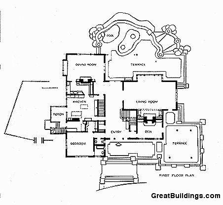 452x415 Charles And Henry Green Gamble House, Pasadena, California, 1907