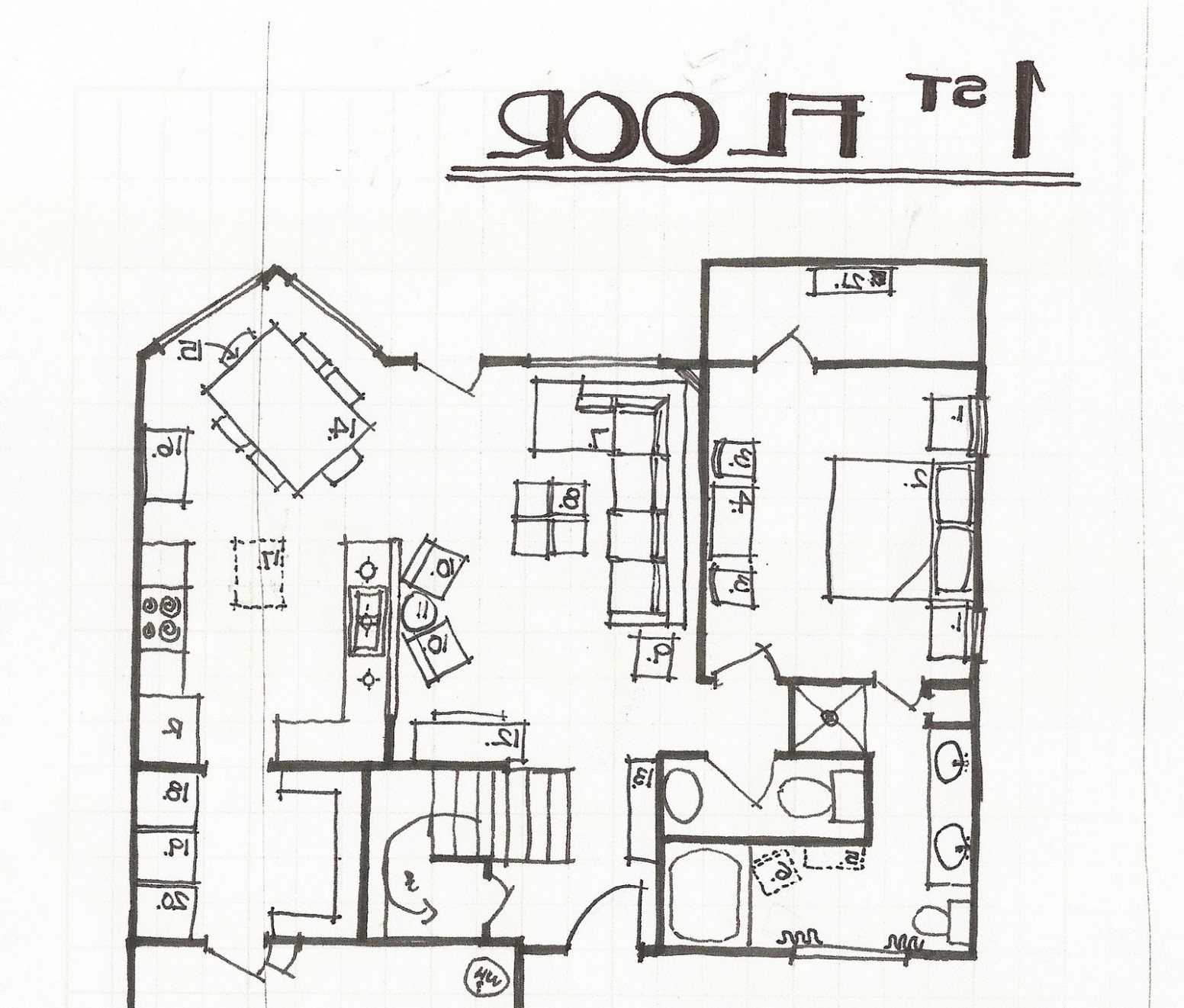 1552x1321 House Sketch Plan Fairytale Cottage Plans Decor Home How To Draw
