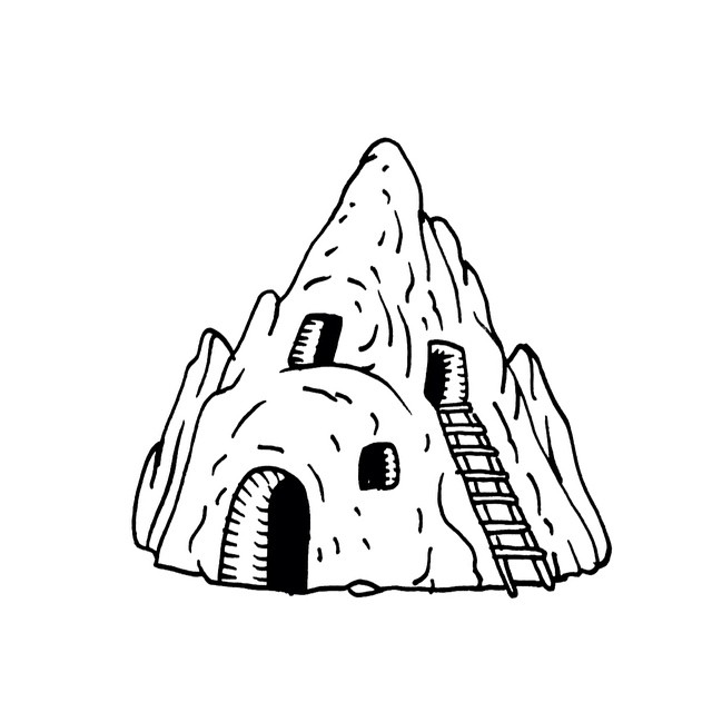 640x640 Image Result For Cave House Sketch Ap Project
