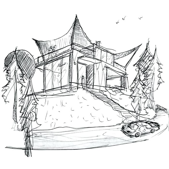 700x700 Sketches House How House Sketch Software Free I9life.club