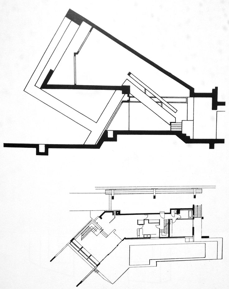 House Top View Drawing