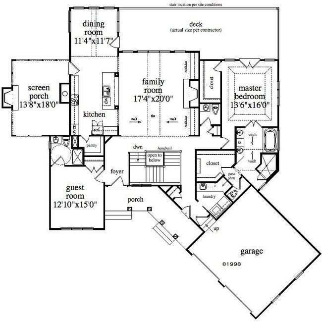 650x650 Houses Plans