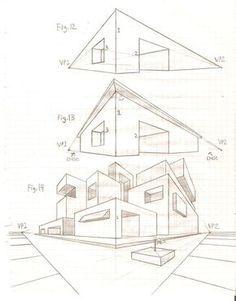236x301 Let Us Try To Draw This House Design By Following The Step By Step